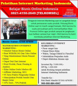 Belajar Internet Marketing Solo