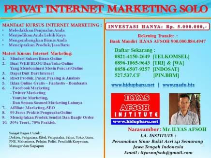 Internet Marketing Solo